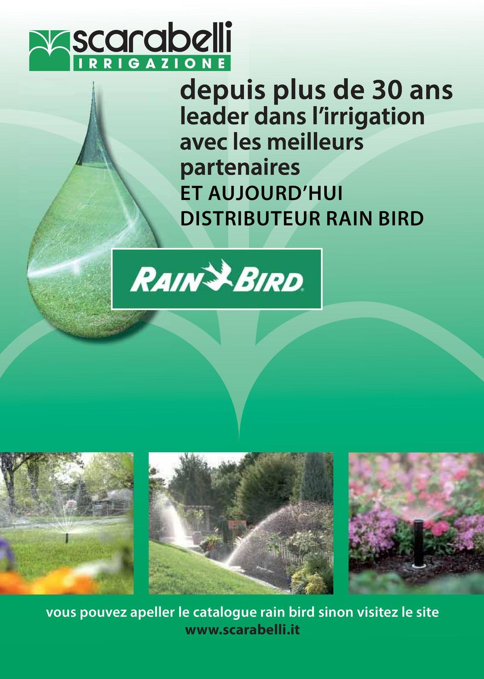 le catalogue rain bird sinon