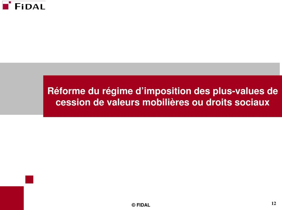plus-values de cession