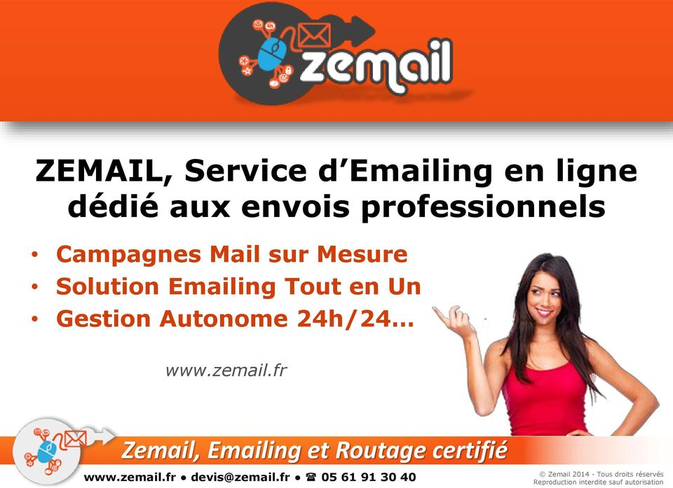 Campagnes Mail sur Mesure Solution