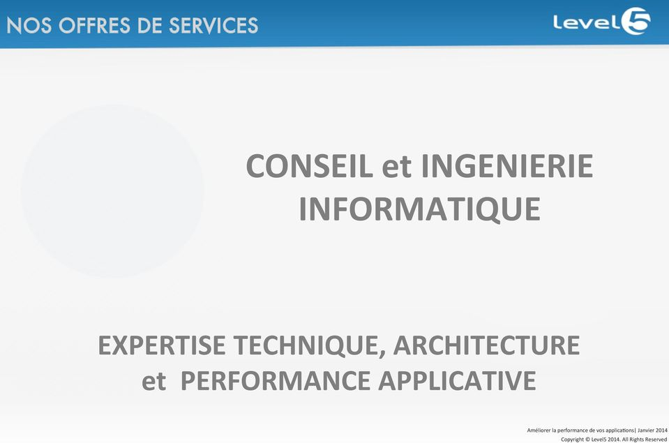 INFORMATIQUE EXPERTISE