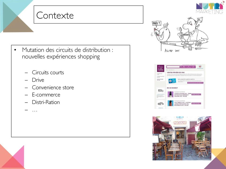expériences shopping Circuits