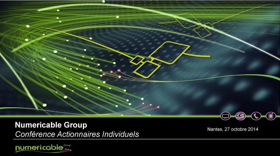 Numericable Group Conférence