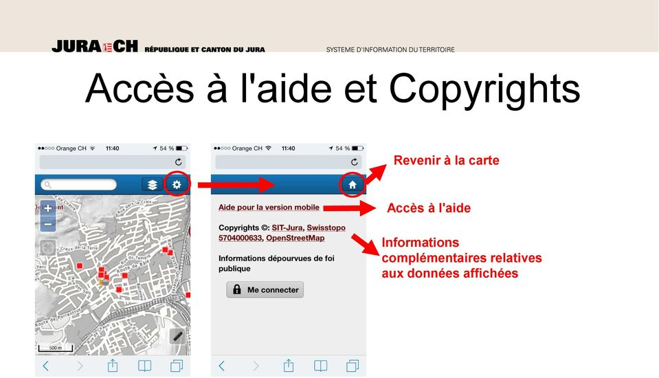 l'aide Informations