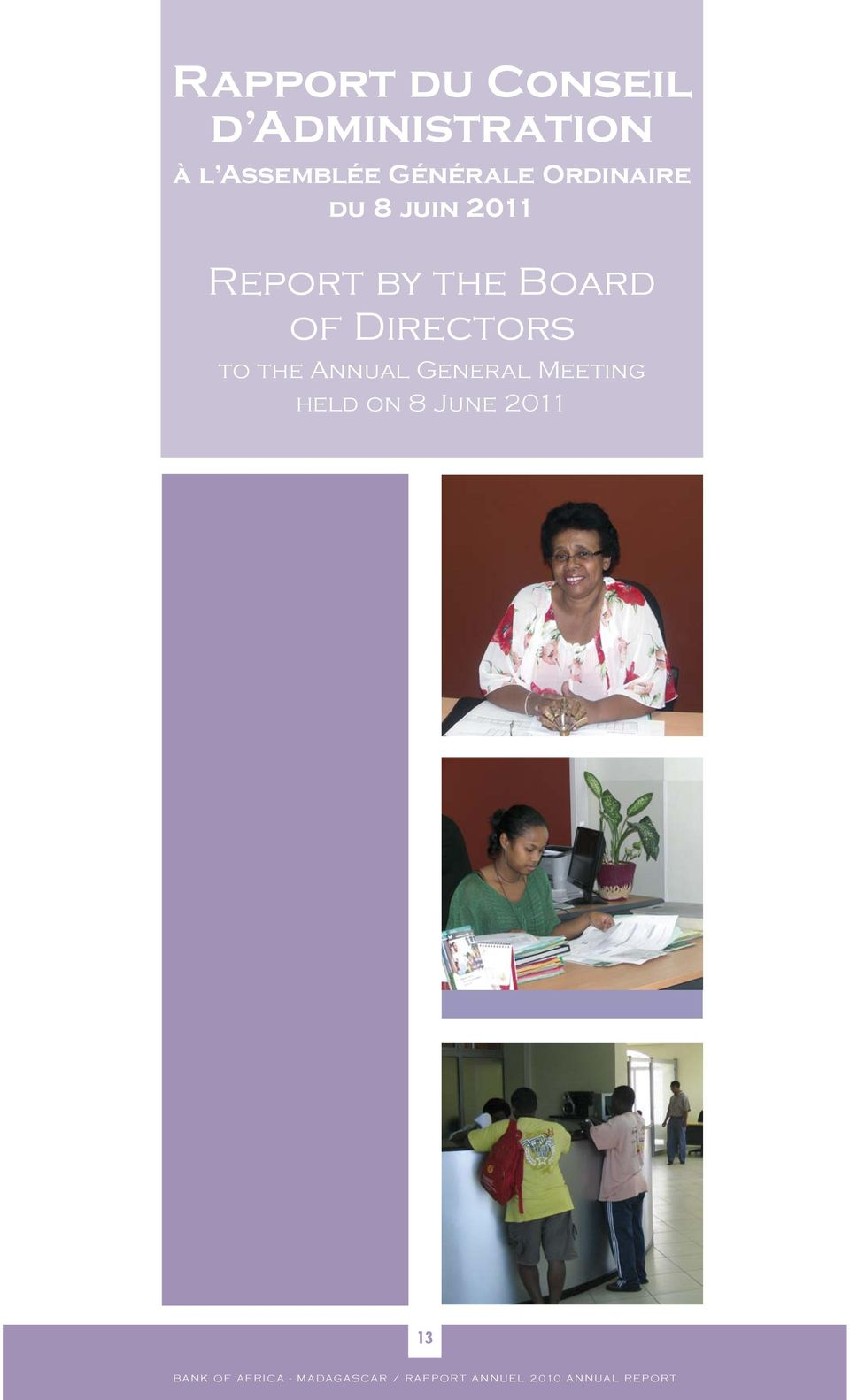 2011 Report by the Board of Directors to