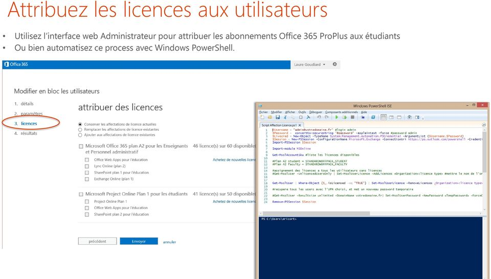 abonnements Office 365 ProPlus aux étudiants Ou