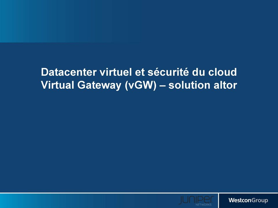 cloud Virtual
