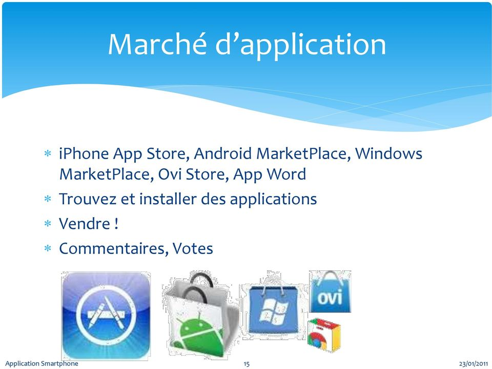 App Word Trouvez et installer des applications