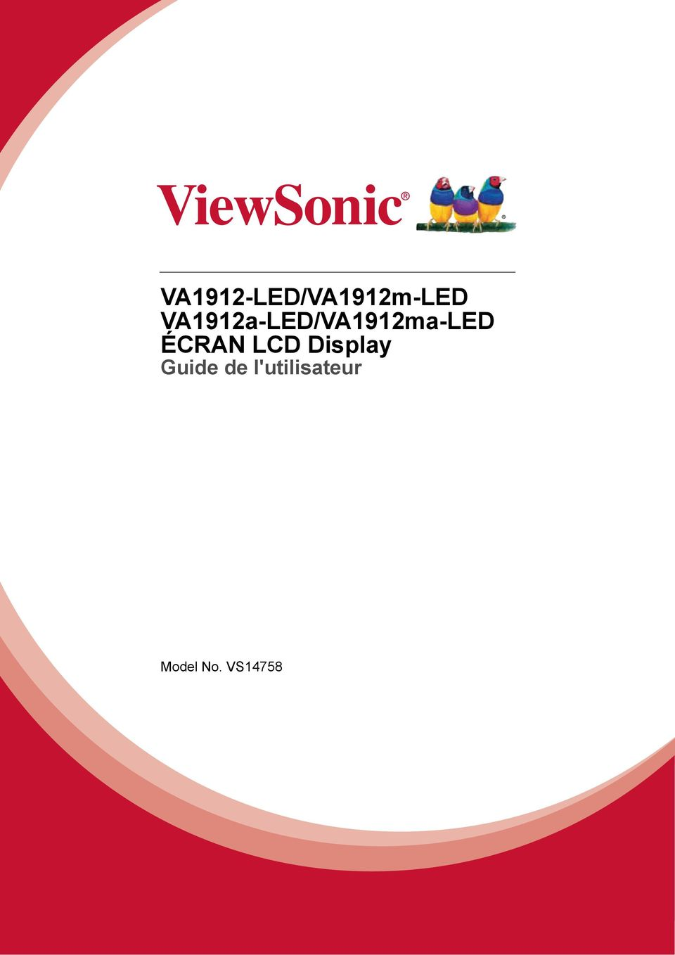 ÉCRAN LCD Display Guide de