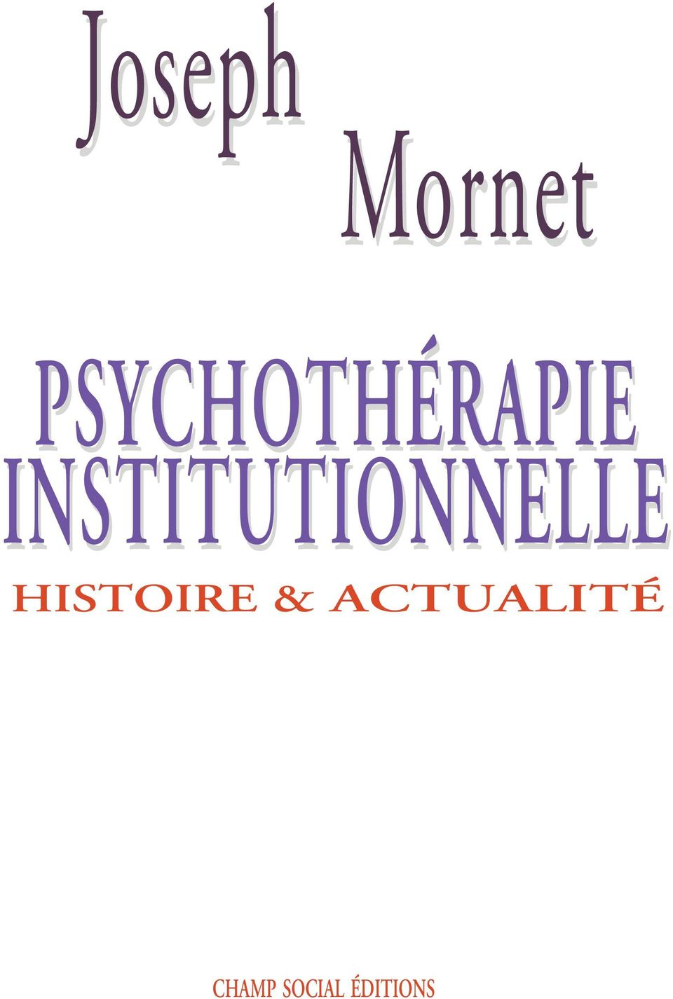INSTITUTIONNELLE