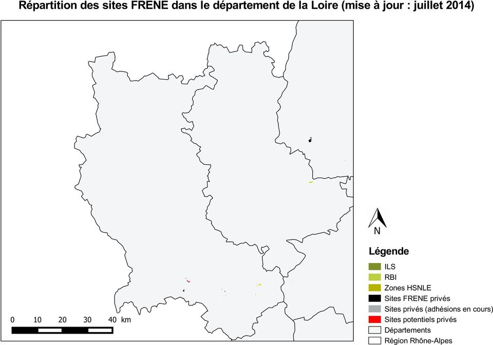 RBI Zones HSNLE Sites FRENE privés Sites privés (adhésions