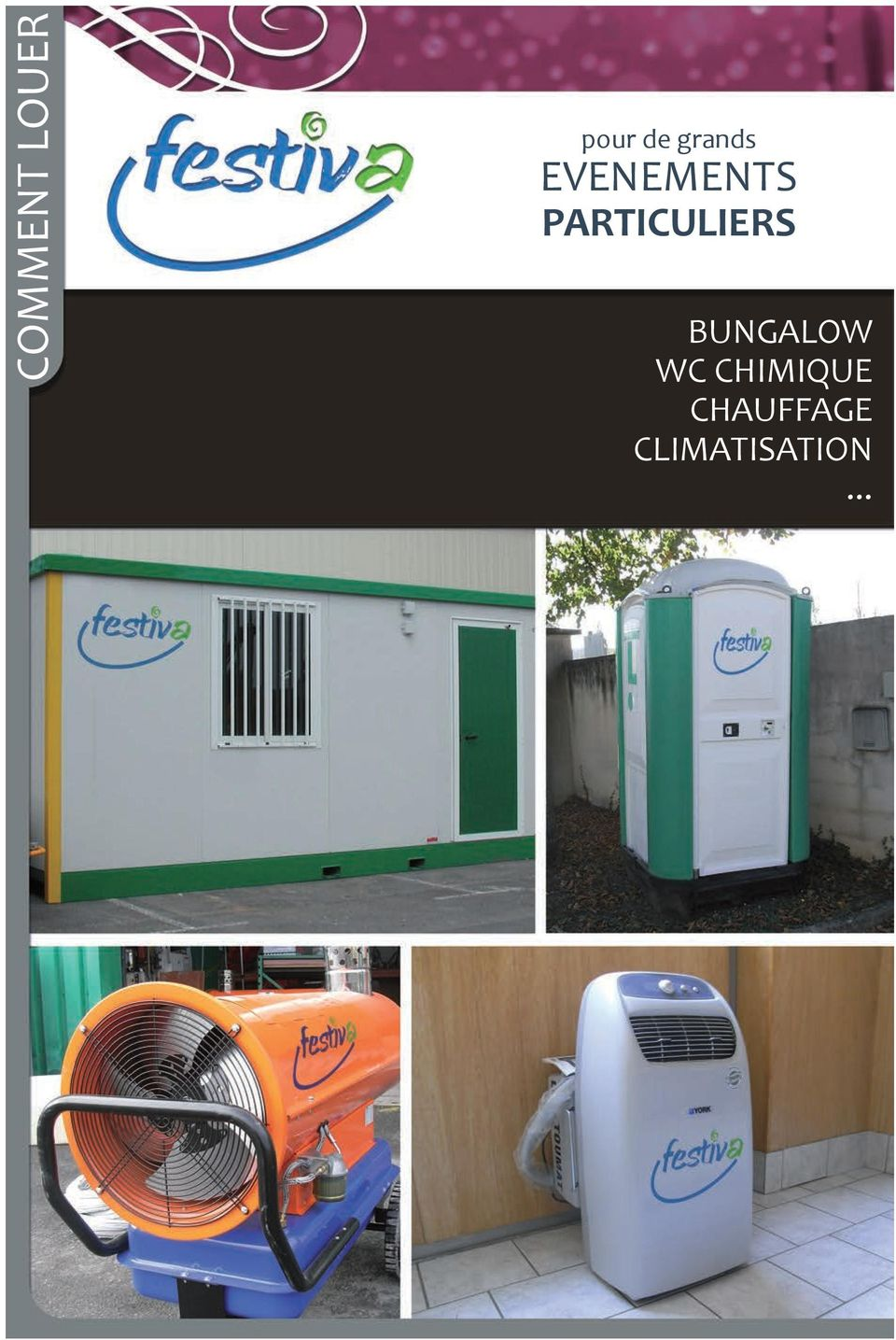 PARTICULIERS BUNGALOW WC