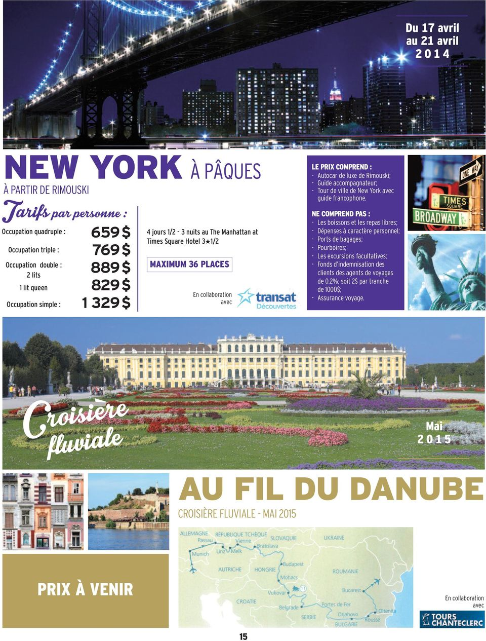 de ville de New York guide francophone.
