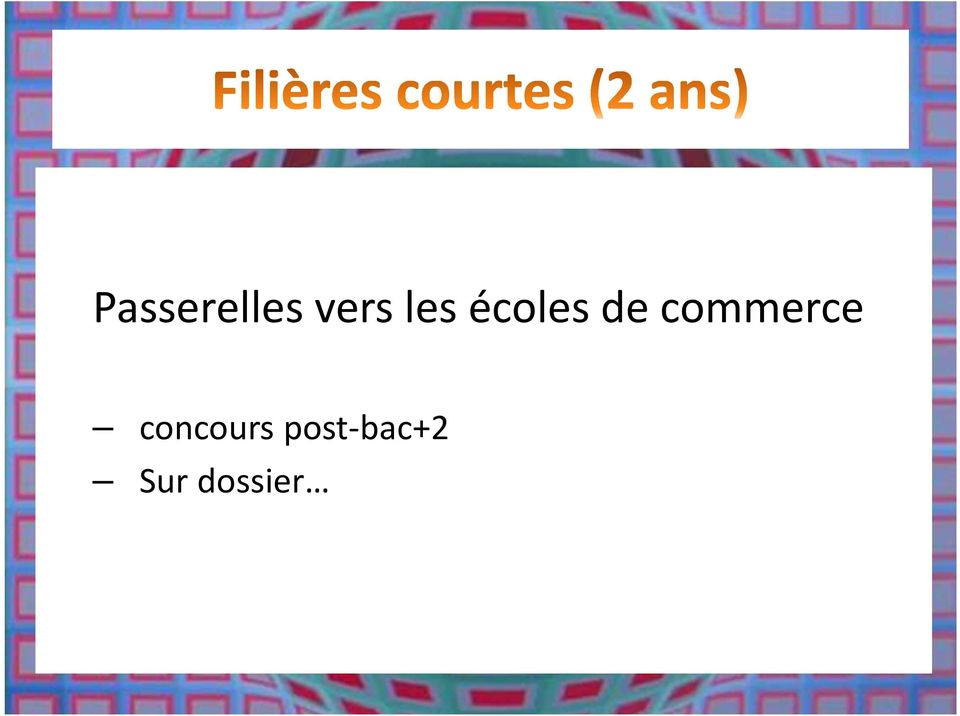 commerce concours