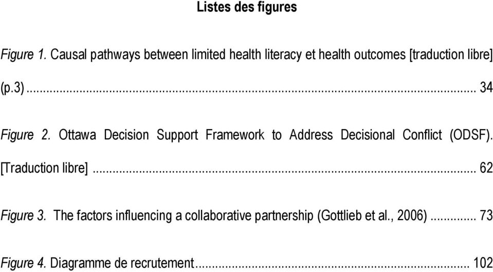 .. 34 Figure 2. Ottawa Decision Support Framework to Address Decisional Conflict (ODSF).