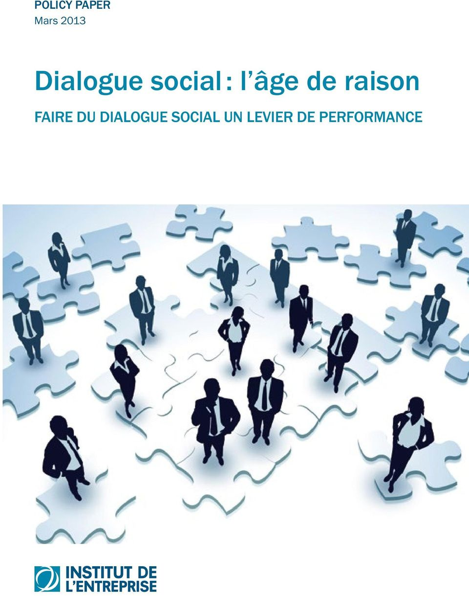 raison FAIRE DU DIALOGUE