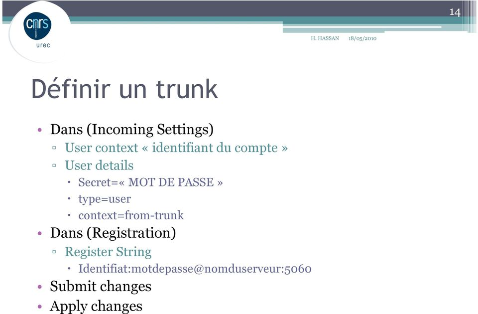 type=user context=from-trunk Dans (Registration) Register