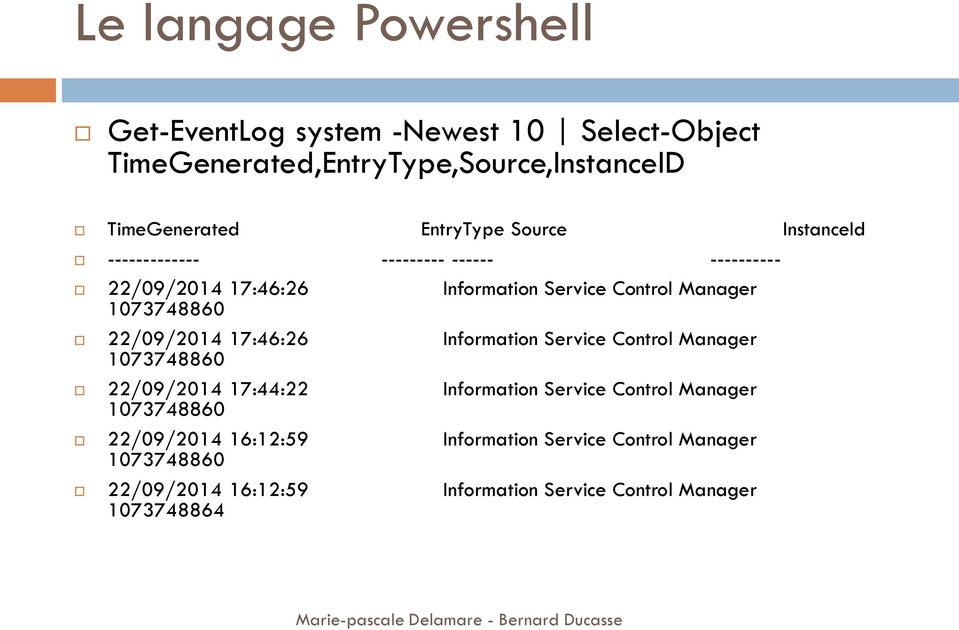 22/09/2014 17:46:26 1073748860 Information Service Control Manager 22/09/2014 17:44:22 1073748860 Information Service Control