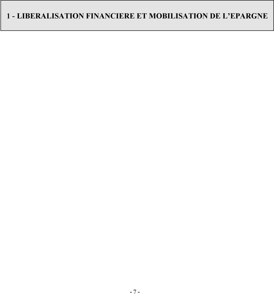 FINANCIERE ET