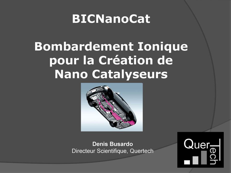 Nano Catalyseurs Denis