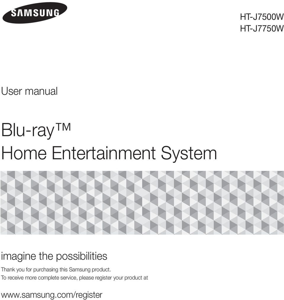 for purchasing this Samsung product.