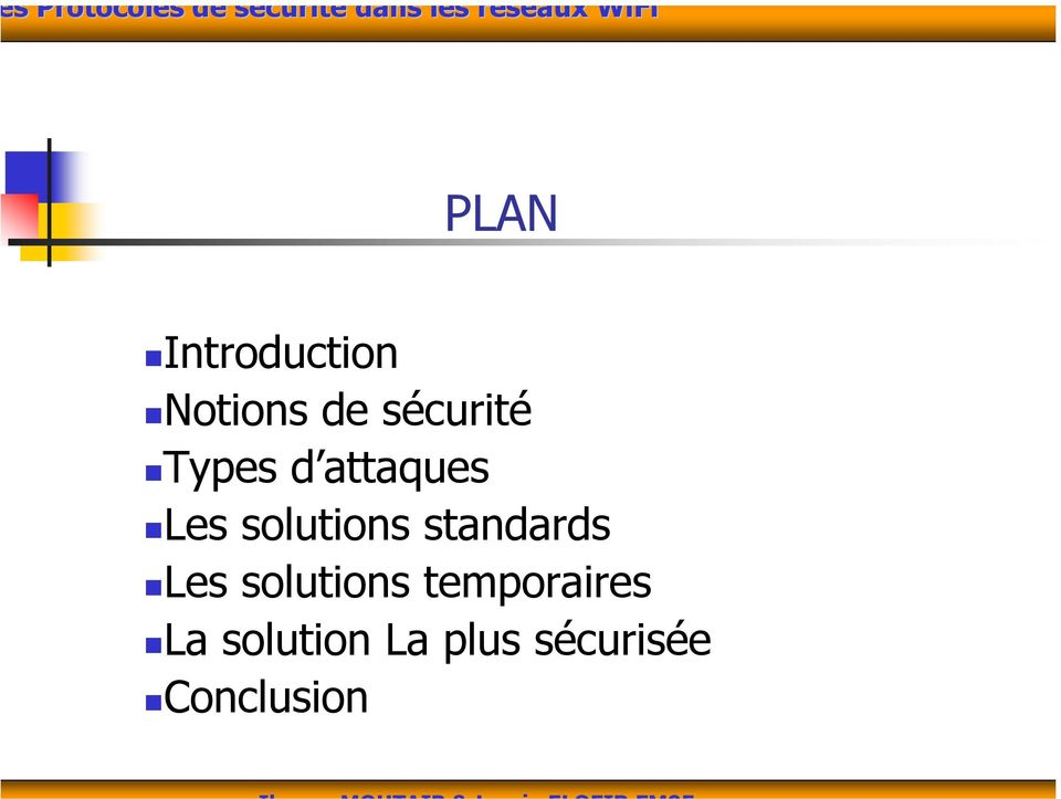 solutions standards Les solutions