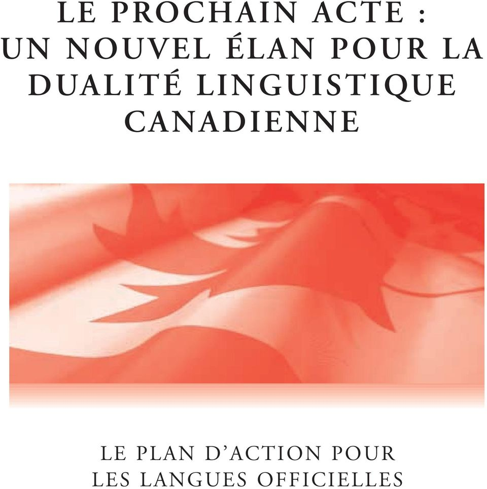 LINGUISTIQUE CANADIENNE LE
