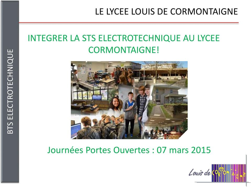 ELECTROTECHNIQUE AU LYCEE