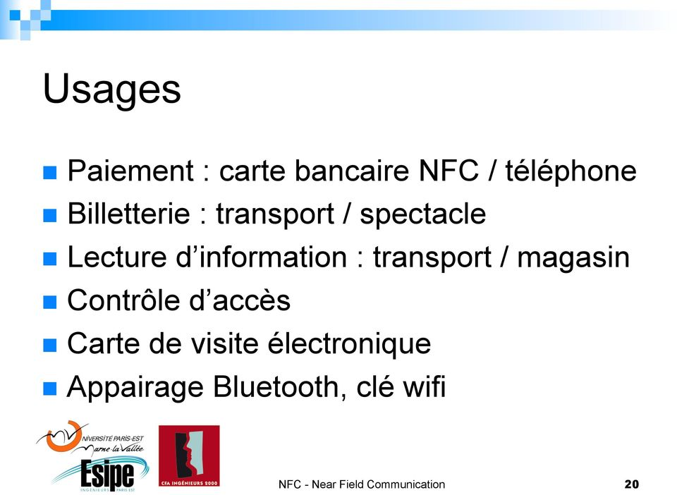 Lecture d information : transport / magasin!