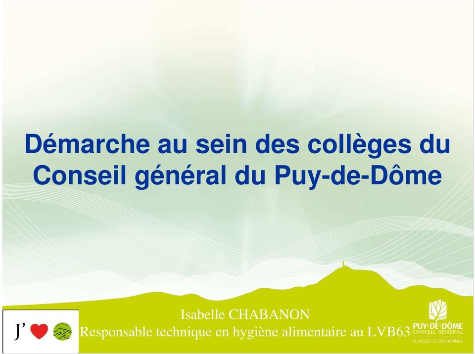 Isabelle CHABANON Responsable