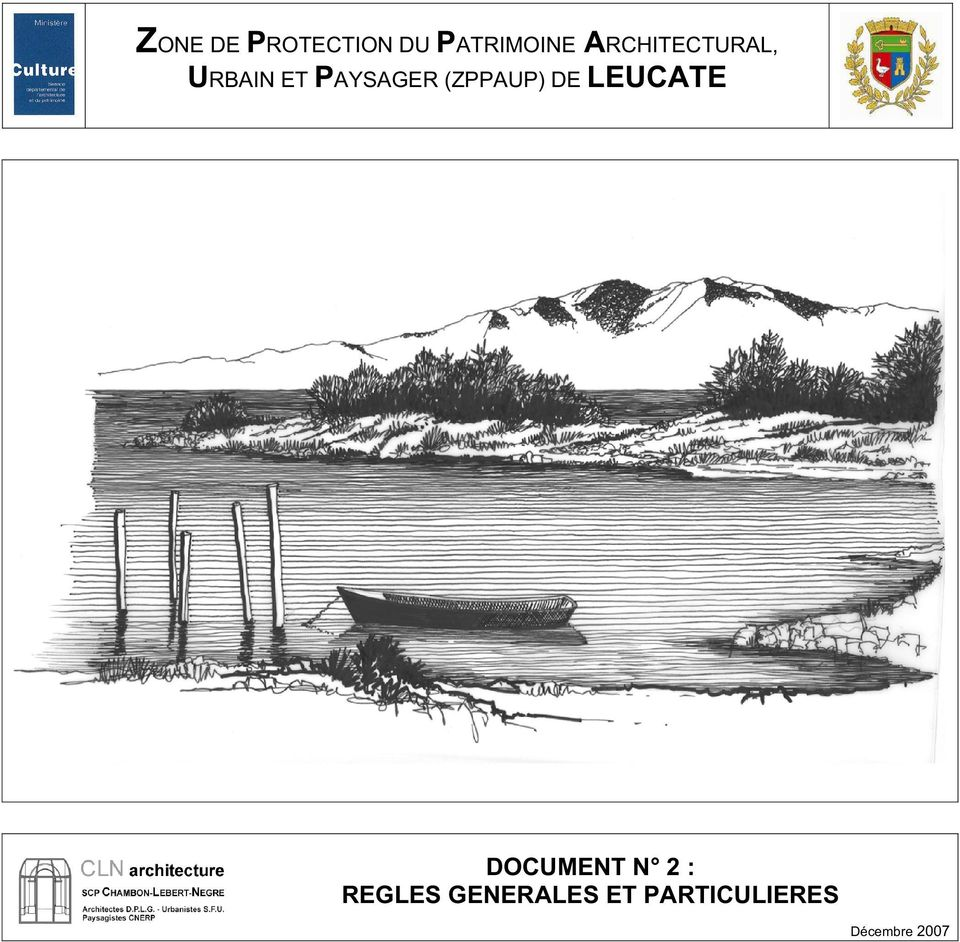 (ZPPAUP) DE LEUCATE DOCUMENT N 2 :