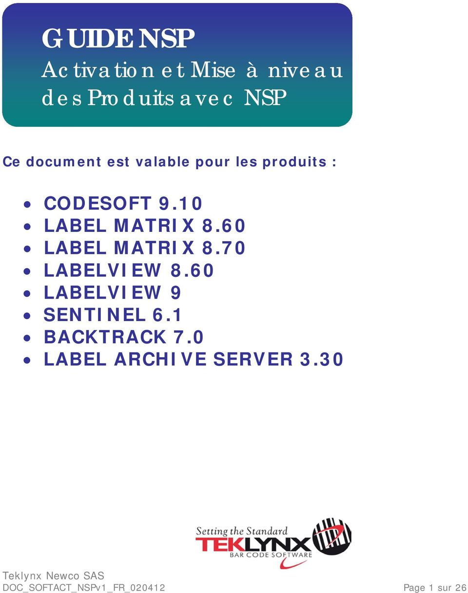 10 LABEL MATRIX 8.60 LABEL MATRIX 8.70 LABELVIEW 8.
