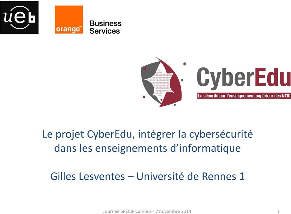 informatique Gilles Lesventes Université