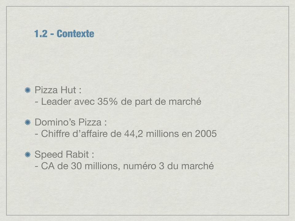 d affaire de 44,2 millions en 2005 Speed