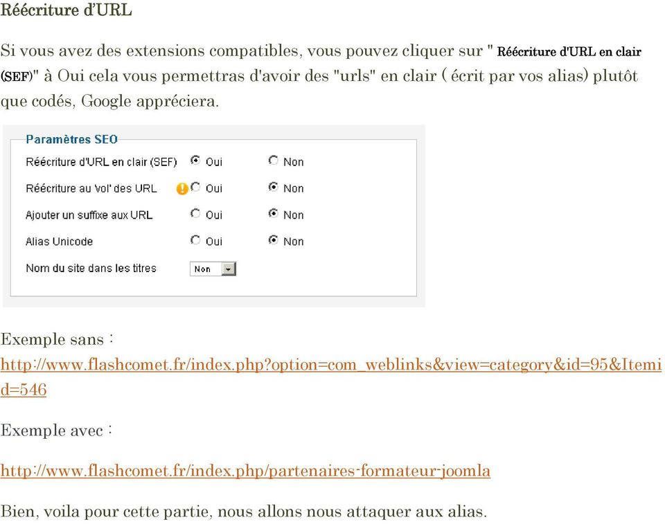 Exemple sans : http://www.flashcomet.fr/index.php?