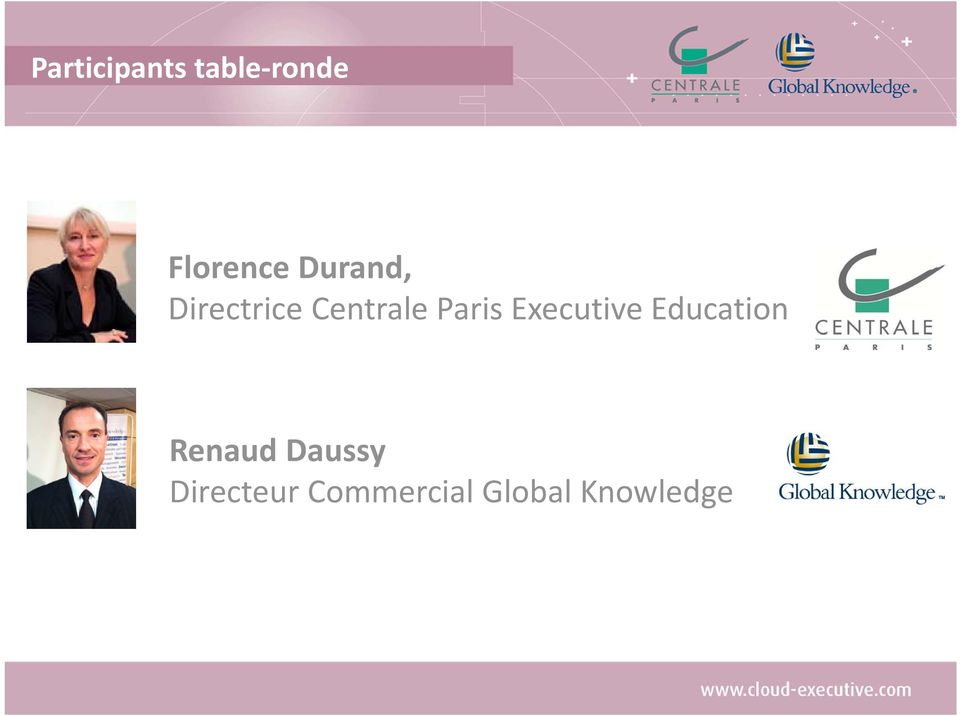 Executive Education Renaud Daussy