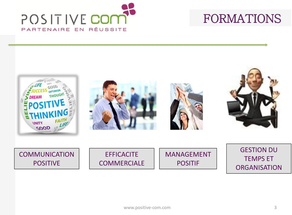 MANAGEMENT POSITIF GESTION DU
