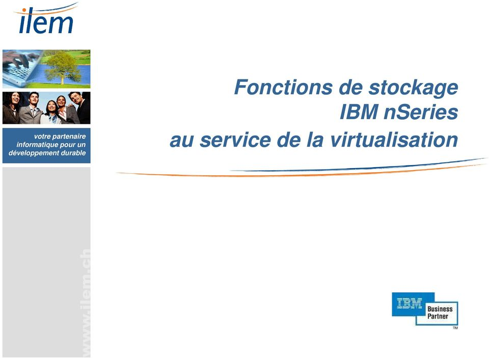 stockage IBM nseries