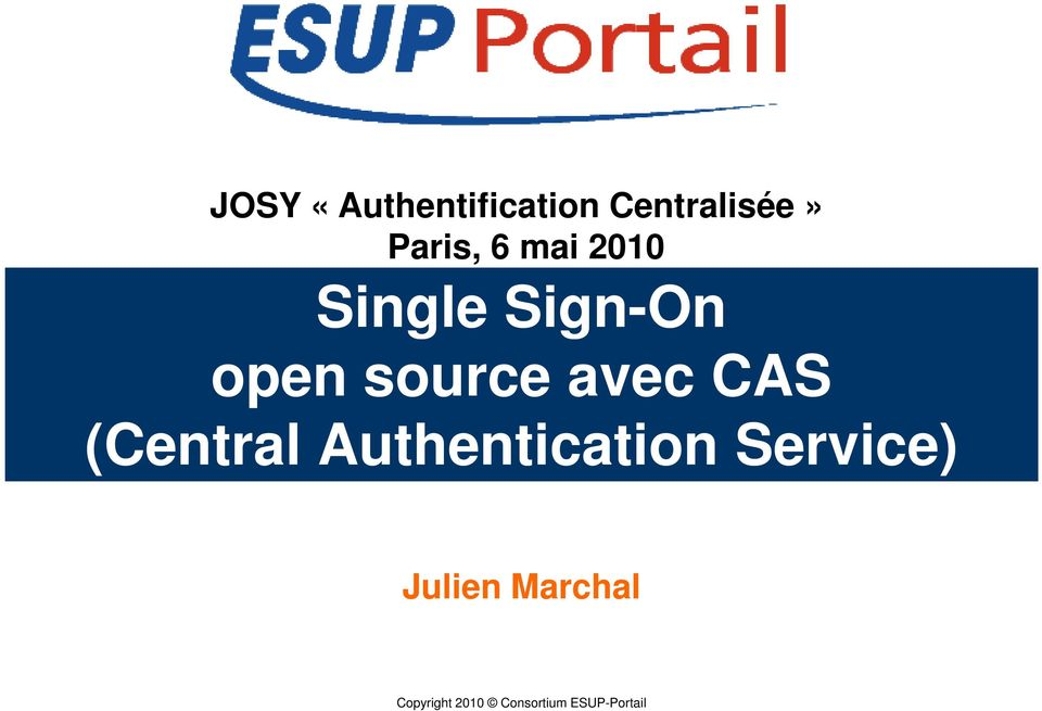 source avec CAS (Central Authentication