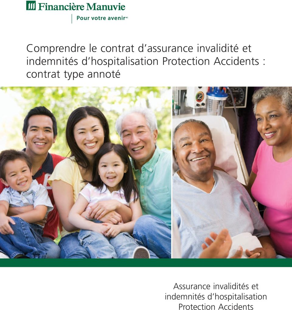 Accidents : contrat type annoté Assurance