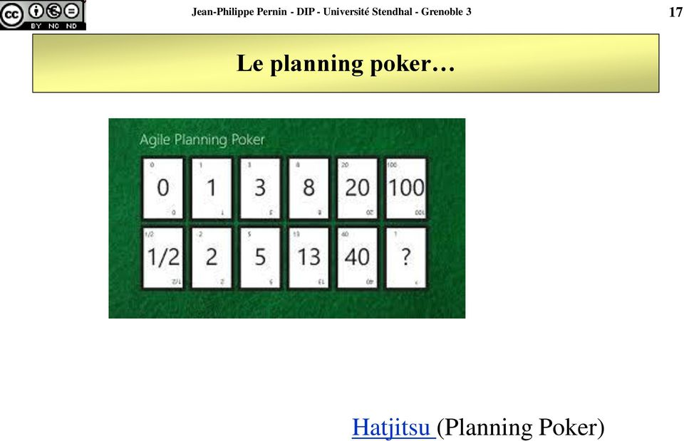 Grenoble 3 17 Le planning