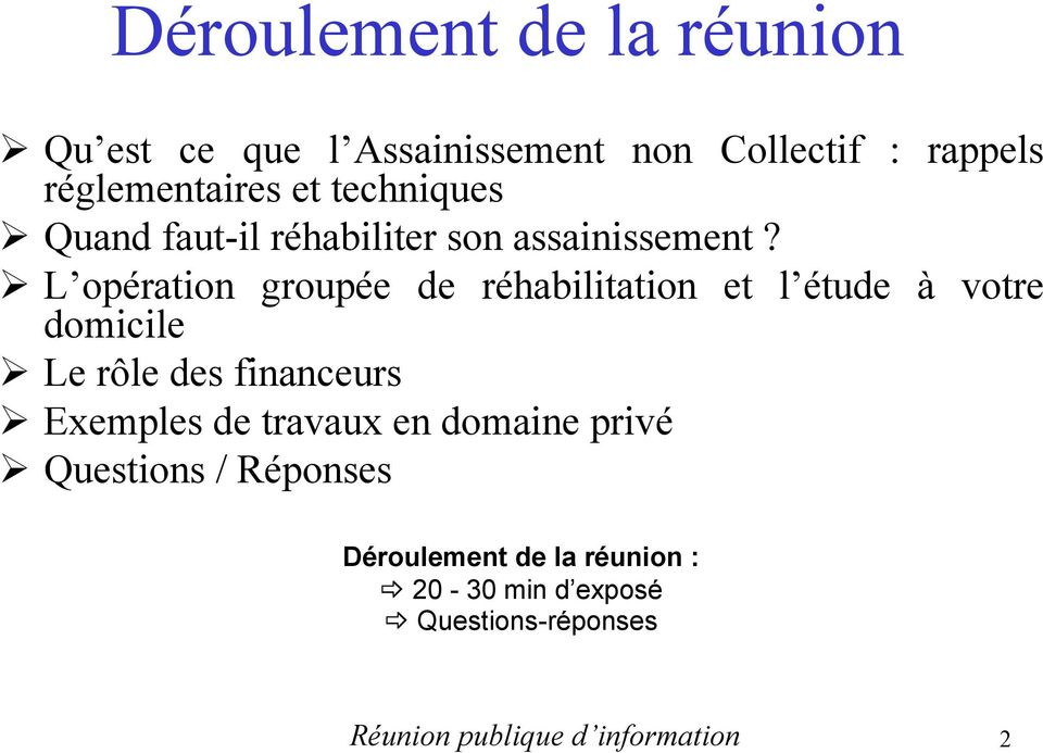 Spanc operation de rehabilitation des filieres d assainissement non collectif en domaine prive pdf - Bureau d etude assainissement non collectif ...