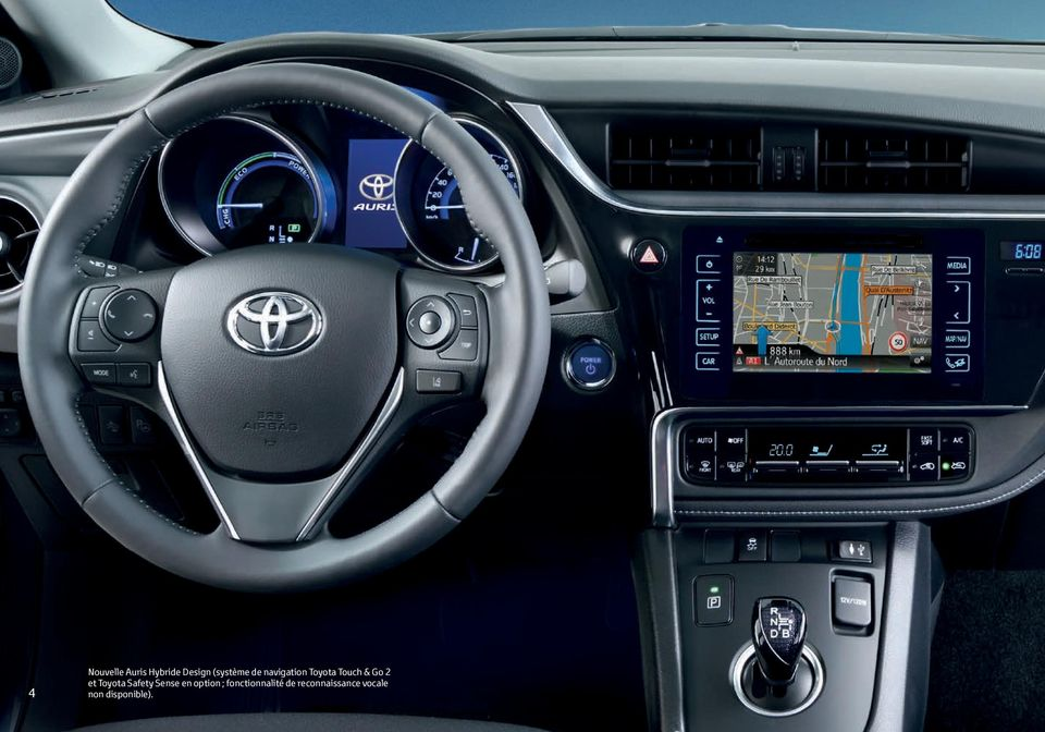Toyota Safety Sense en option ;
