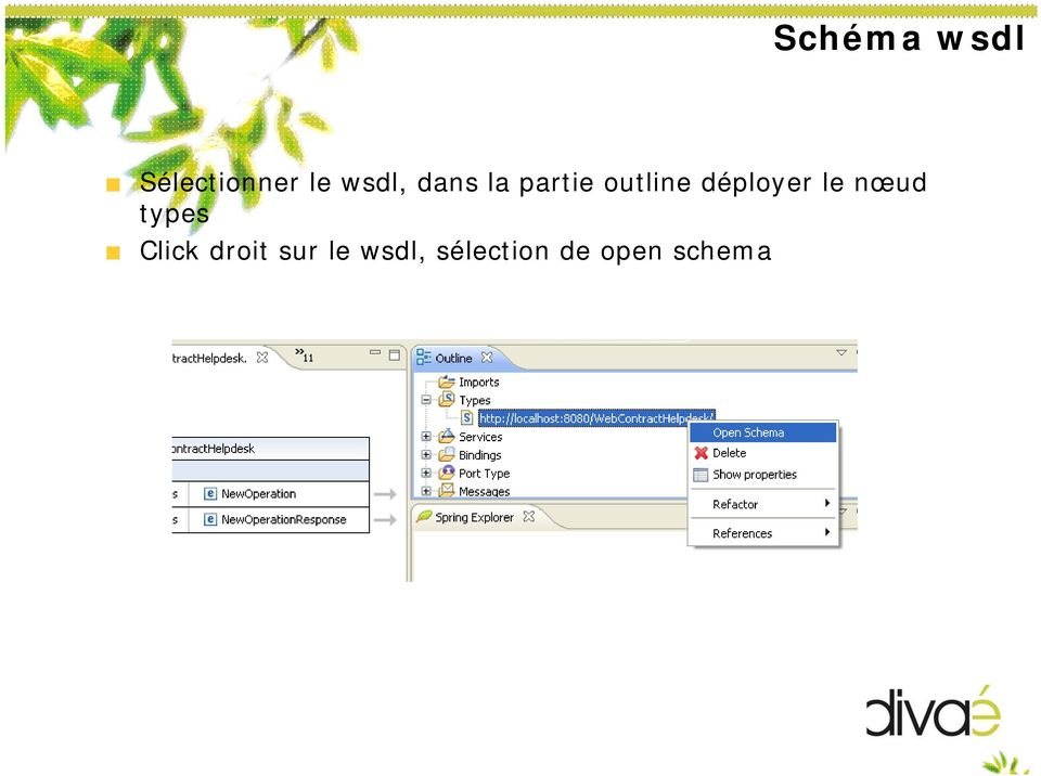 déployer le nœud types Click