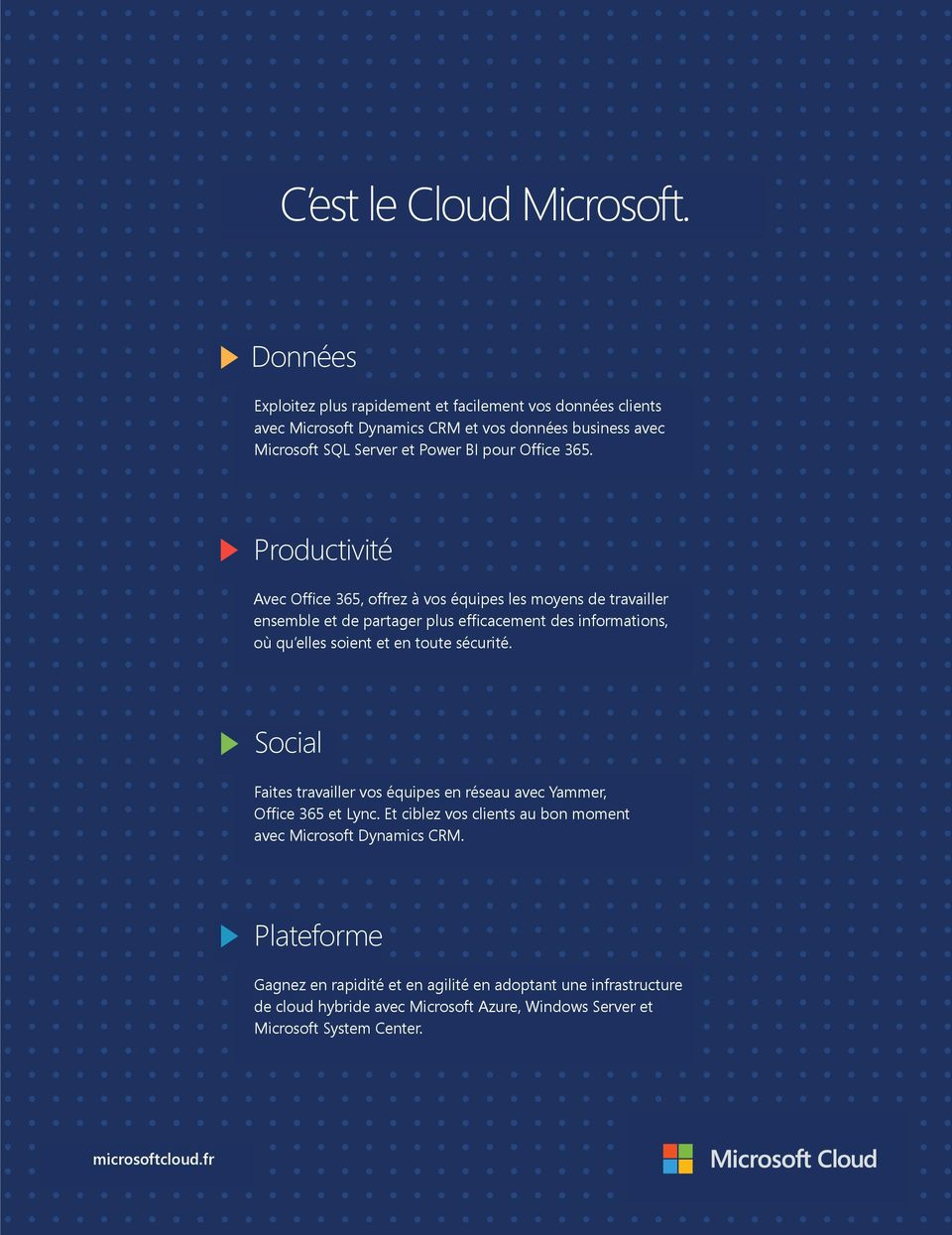 CRM et CRM, vos and données business business insights avec with Microsoft SQL Server and et Power BI BI pour for Office Office 365.