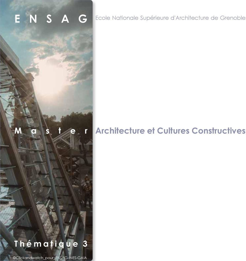 Architecture et Cultures Constructives