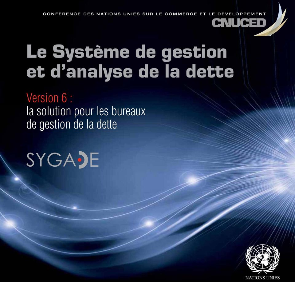 gestion et d analyse de la dette Version 6 :