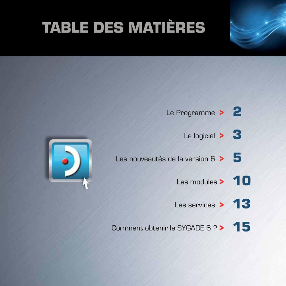 version 6 > Les modules > Les services