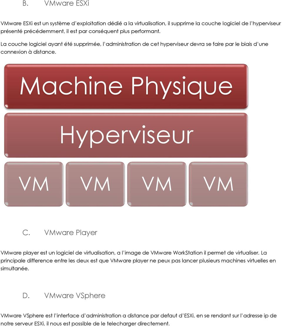 VMware Player VMware player est un logiciel de virtualisation, a l image de VMware WorkStation il permet de virtualiser.