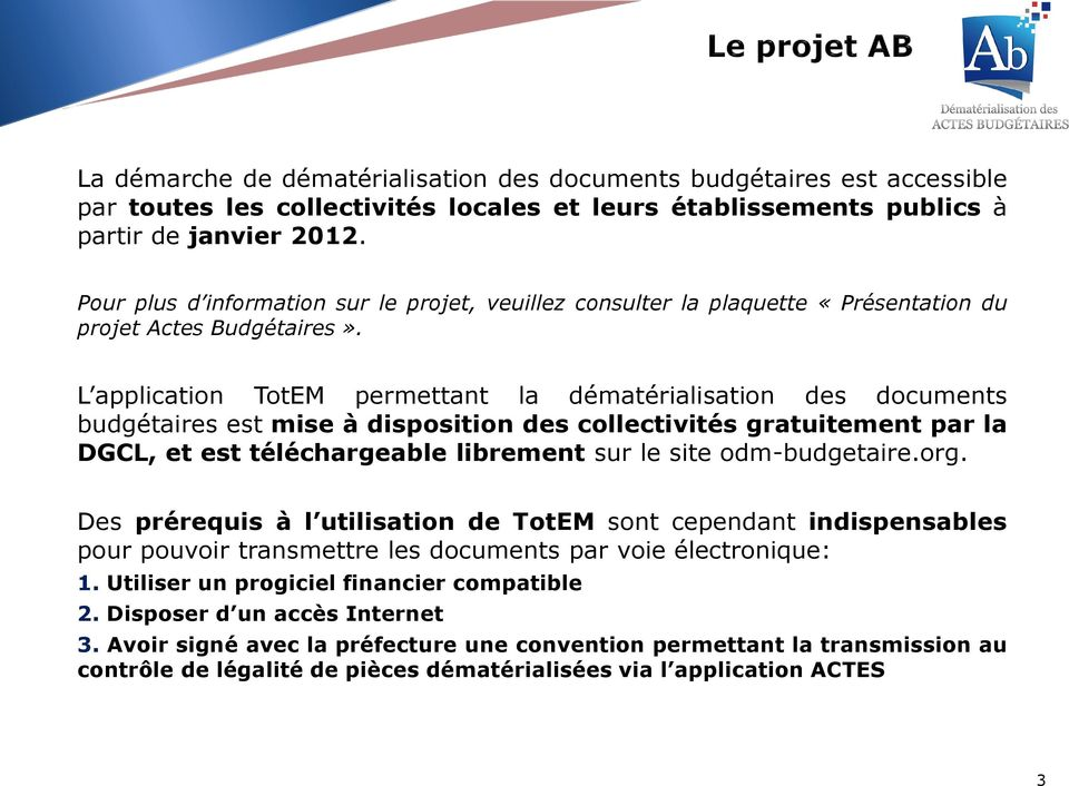 totem actes budgetaires