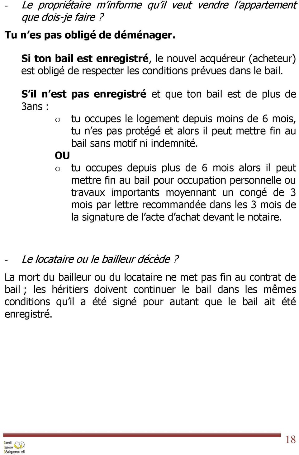 Le bail simple bout de papier pdf - Travaux realises par le locataire sans accord du proprietaire ...